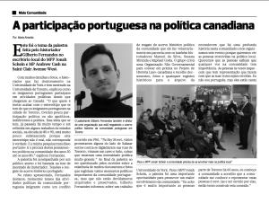 article in Post Milenio Feb 28 2013