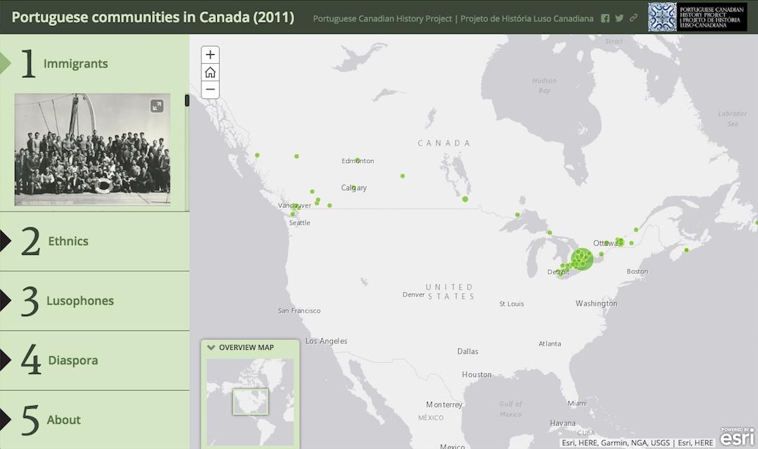map communities